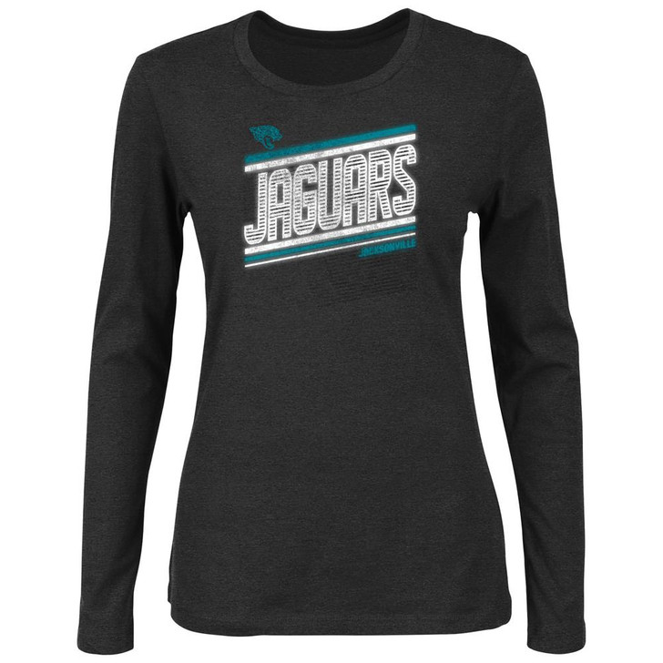 Long Sleeve Ladies Jacksonville Jaguars T-Shirt