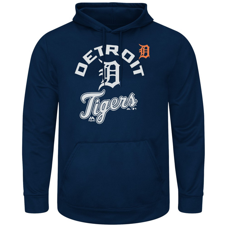 Men's Detroit Tigers Synthetic Pullover Hoodie