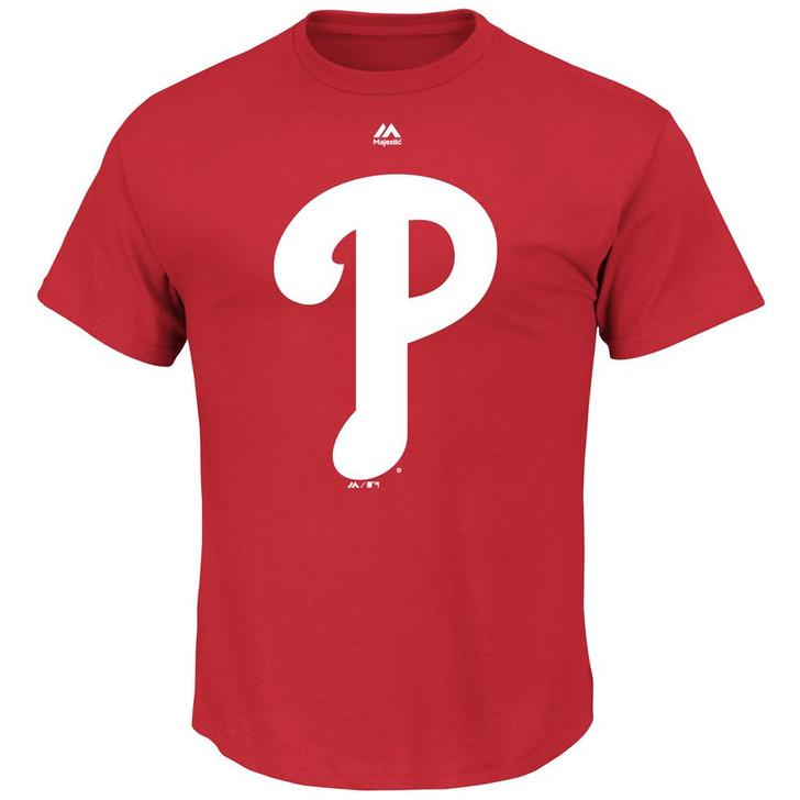 Official Logo Philadelphia Phillies Short Sleeve T-Shirt