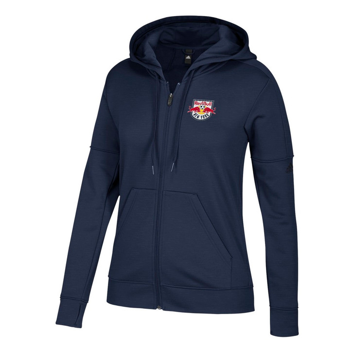 New York Red Bulls Hoodie Women's Team Issue Zip Up Jacket