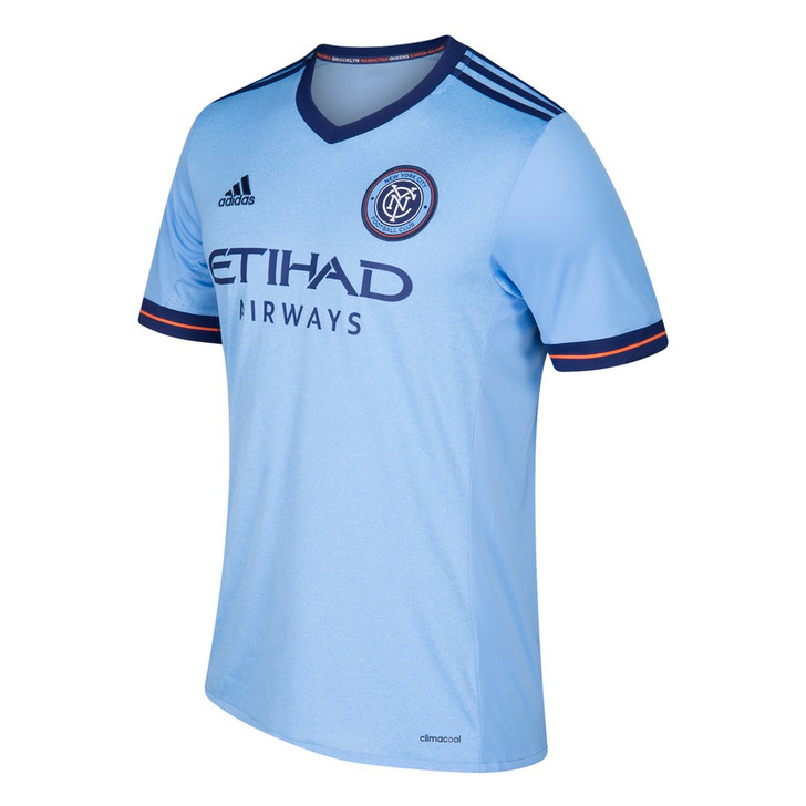 New York City FC Jersey Replica Home Adidas Soccer Jersey