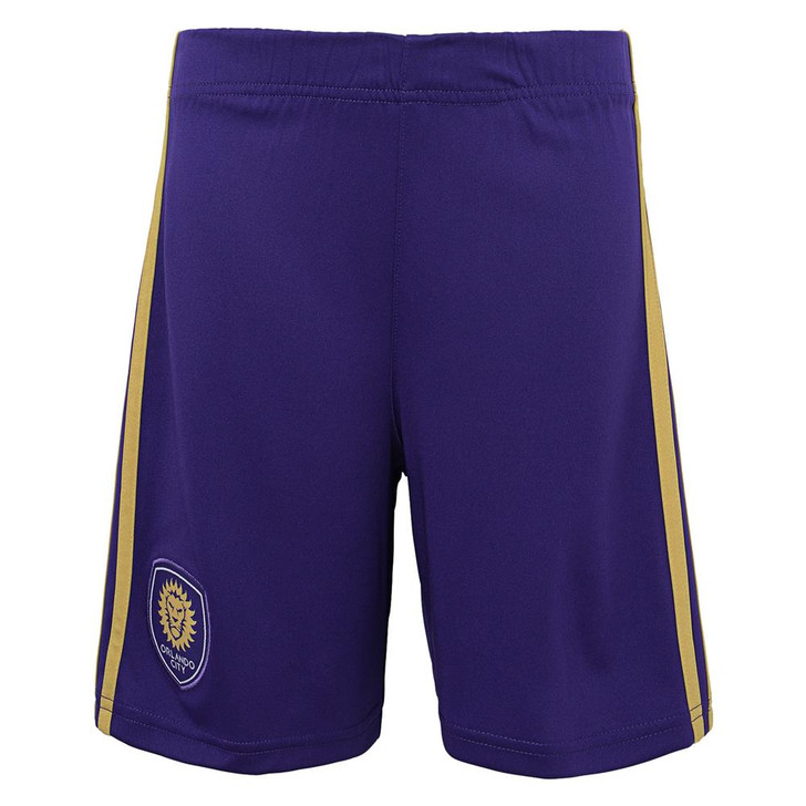 Boy's Orlando City SC Gym Shorts Adidas Basketball Shorts