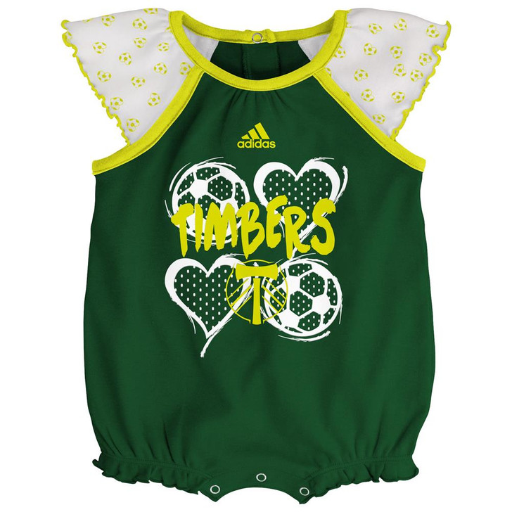 Portland Timbers Infant Bodysuit Adidas Baby Snapsuit Set