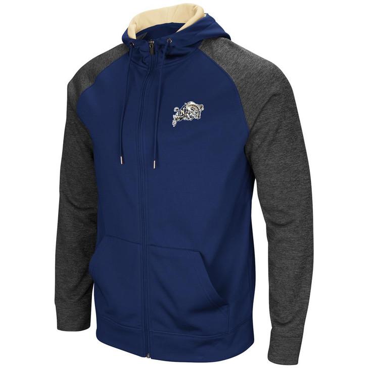 Naval Academy Navy Men's Full ZipHoodie Fleece Jacket