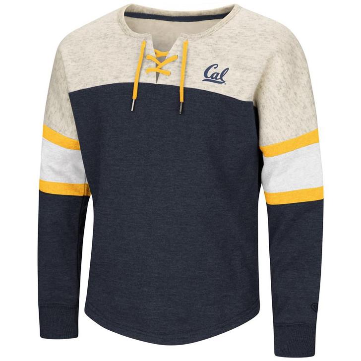 Cal Berkeley Golden Bears Girls Sweatshirt Oversized Pullover