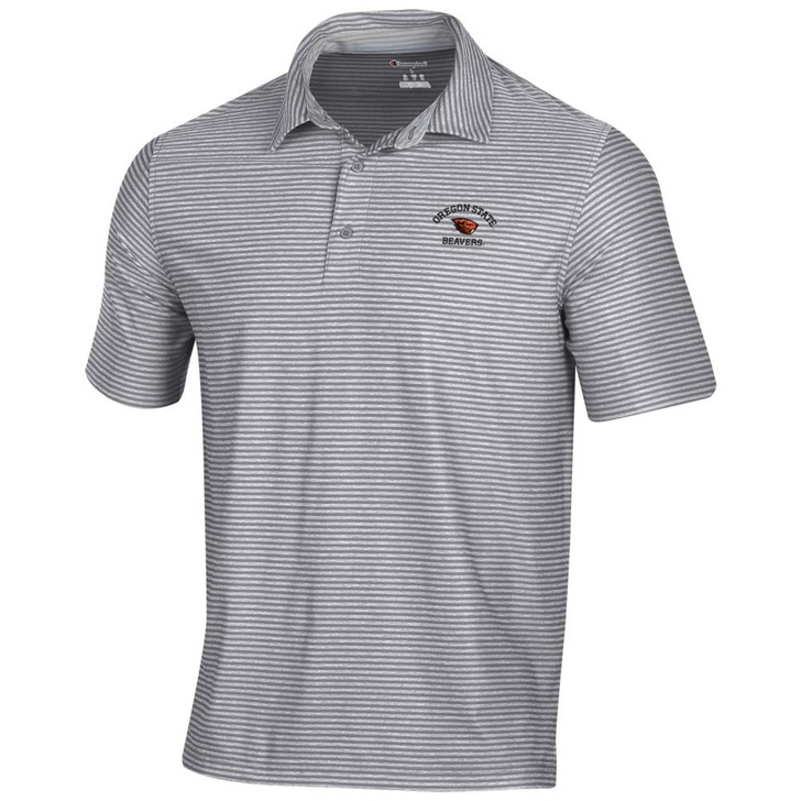 Oregon State Beavers Men's Polo Champion Tonal Stripe Polo