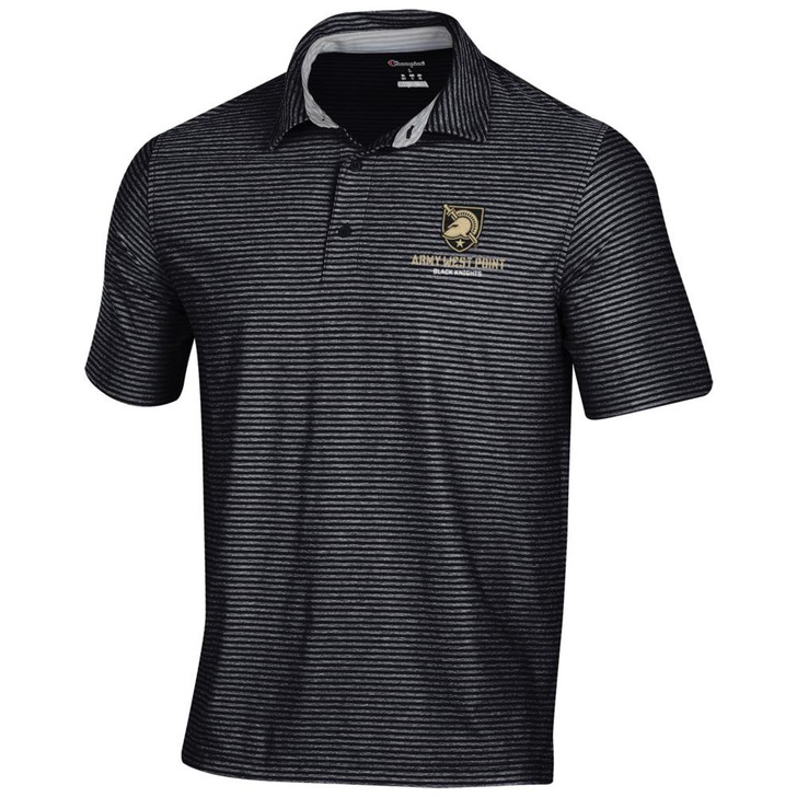 Army Black Knights Men's Polo Champion Tonal Stripe Polo