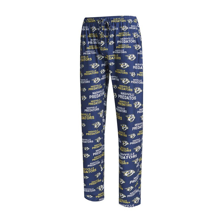 Nashville Predators Men's Pajama Pants Midfield Sleep Pants