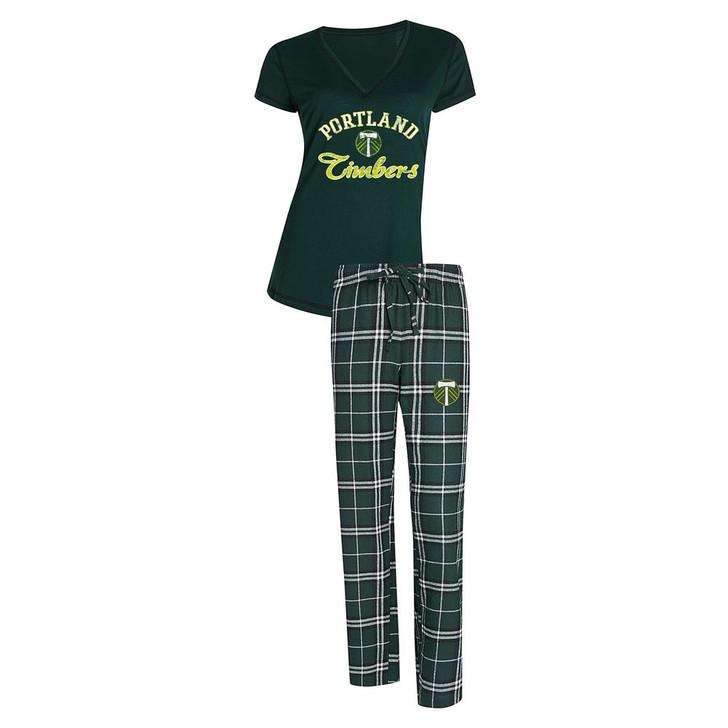 Portland Timbers Women's Pajama Set Duo Sleep Set