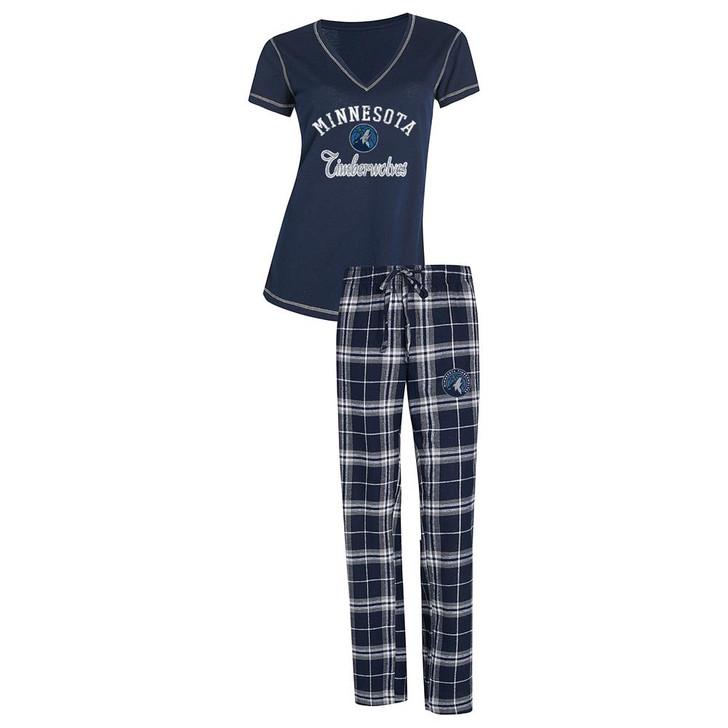 Minnesota Timberwolves Women's Pajama Set Duo Sleep Set