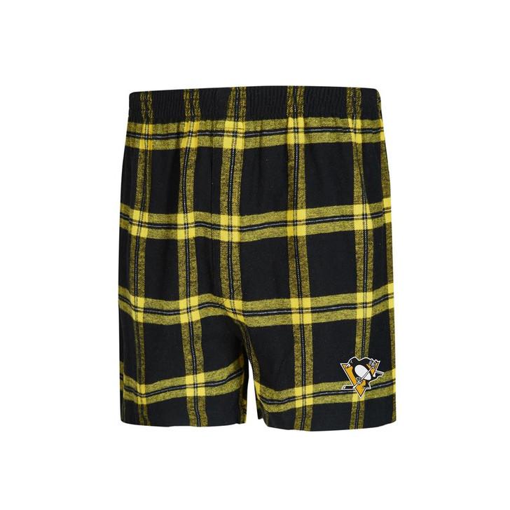 Pittsburgh Penguins Men's Boxers Flannel Boxer Shorts