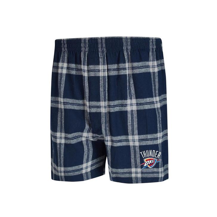 Oklahoma City Thunder Men's Boxers Flannel Boxer Shorts