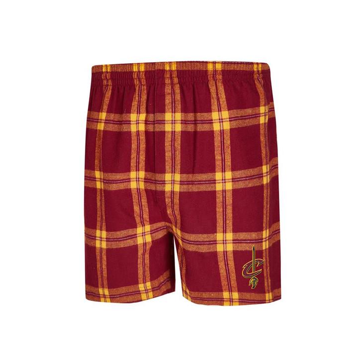Cleveland Cavaliers Men's Boxers Flannel Boxer Shorts