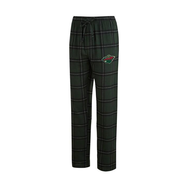 Minnesota Wild Men's Pajama Pants Plaid Pajama Bottoms