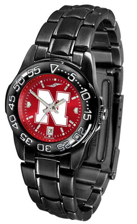 Women's Nebraska Cornhuskers Black Watch Fantom AnoChrome