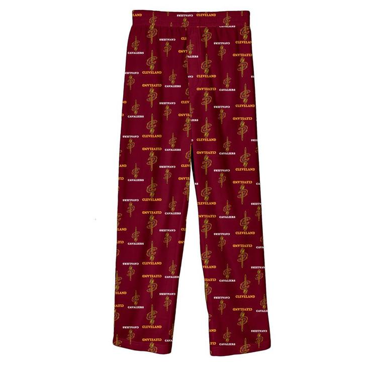 Youth Cleveland Cavaliers Pajama Pant Boys Sleep Bottoms