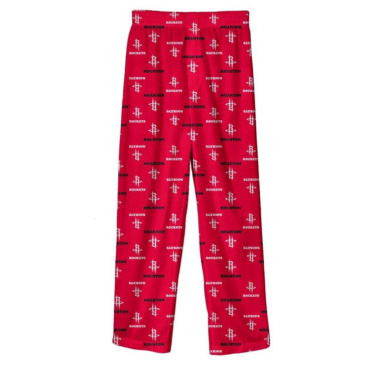 Youth Houston Rockets Pajama Pant Boys Sleep Bottoms