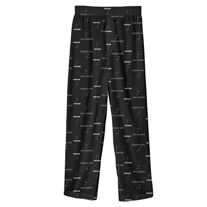 Youth San Antonio Spurs Pajama Pant Boys Sleep Bottoms