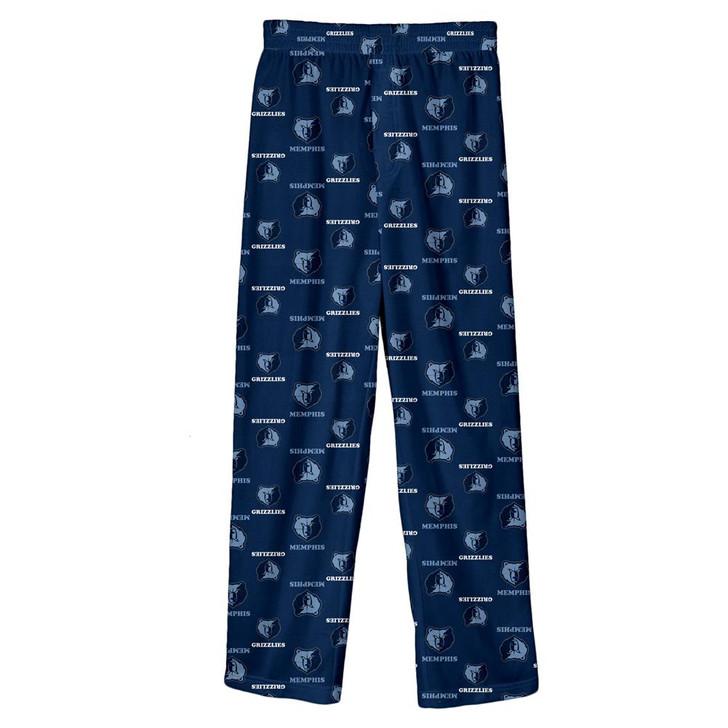 Youth Memphis Grizzlies Pajama Pant Boys Sleep Bottoms