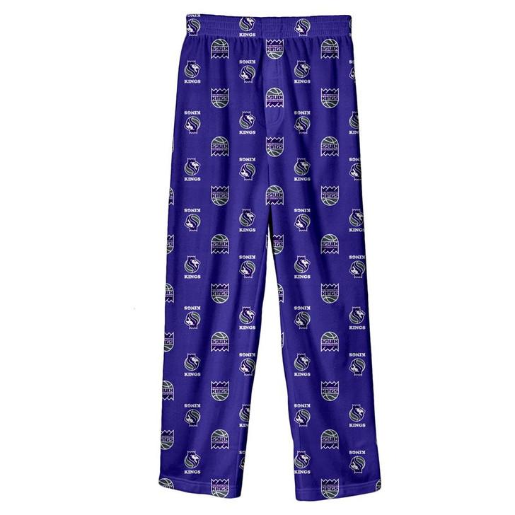 Youth Sacramento Kings Pajama Pant Boys Sleep Bottoms