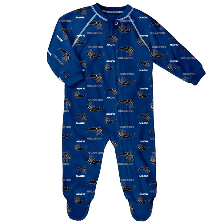Infant/Toddler Orlando Magic Coverall Zip Up Sleeper