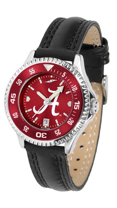 Alabama Crimson Tide Bama Ladies Leather Watch