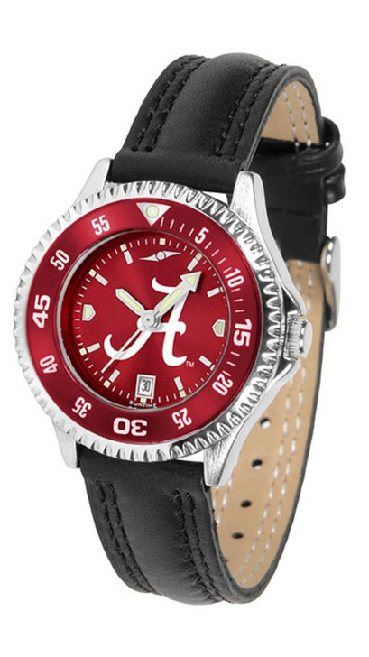 Alabama Crimson Tide Bama Ladies Leather Watch