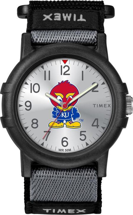 Kansas Jayhawks KU Youth FastWrap Recruit Timex Watch
