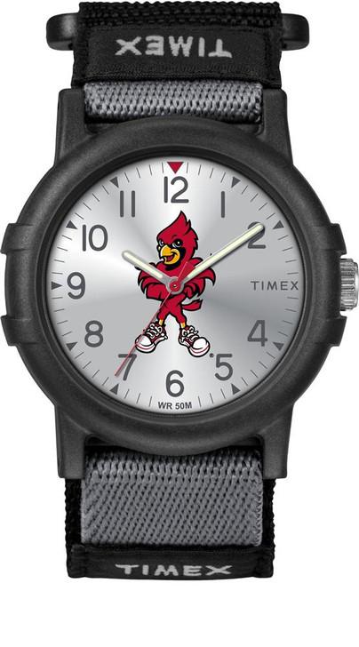 Louisville Cardinals Youth FastWrap Recruit Timex Watch