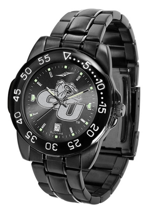 Men's Gonzaga University Bulldogs Black Watch Fantom Black Steel