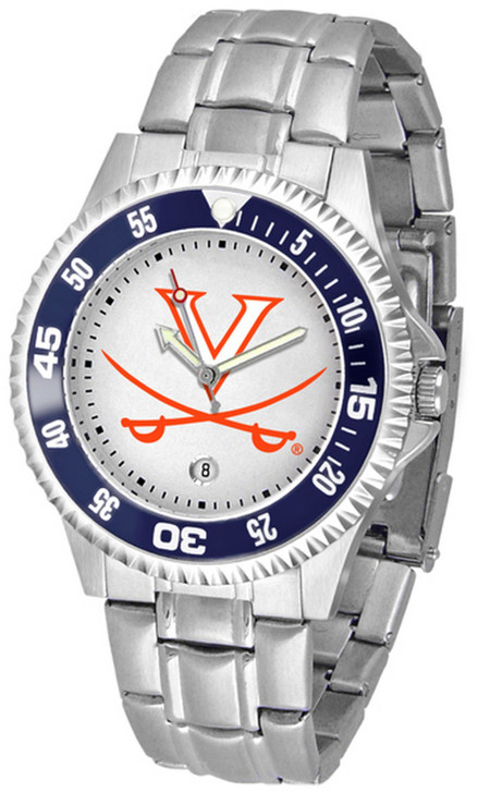 Men's University of Virginia Cavaliers Watch Competitor Stainless Steel