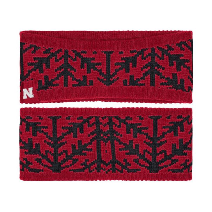 Nebraska Cornhuskers Women's Headband Adidas Woven Headband