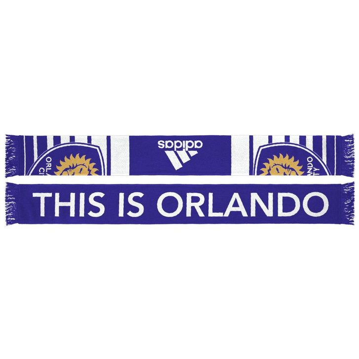 Adidas Orlando City SC Jacquard Scarf