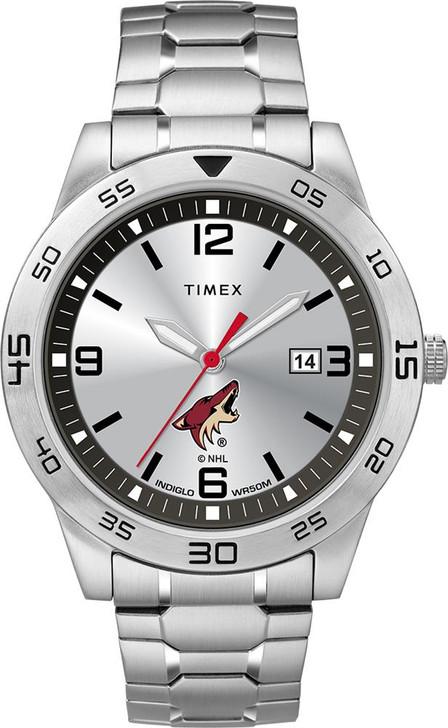 Men's Arizona Coyotes Watch Timex Citation Steel Watch