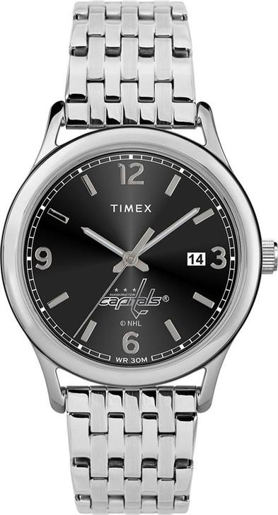 Women's Washington Capitals Watch Timex Sage Stainless Watch