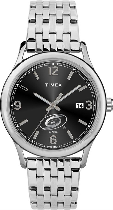 Women's Carolina Hurricanes Watch Timex Sage Stainless Watch
