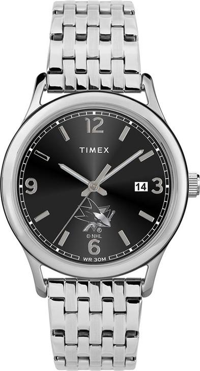 Women's San Jose Sharks Watch Timex Sage Stainless Watch