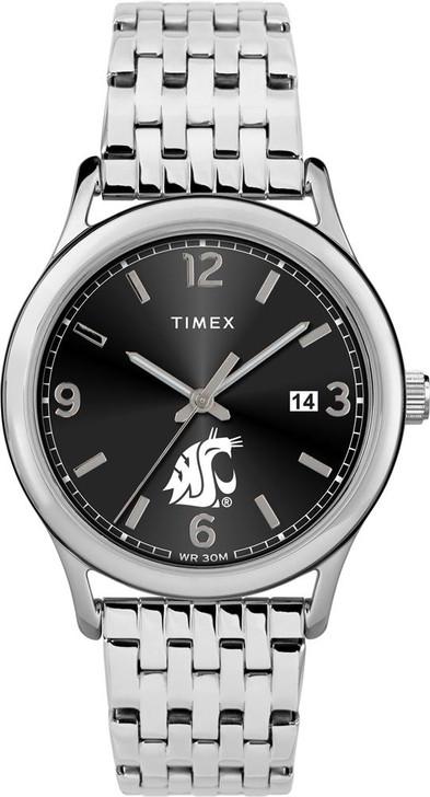 Women's Washington State University Watch Timex Sage Stainless Watch