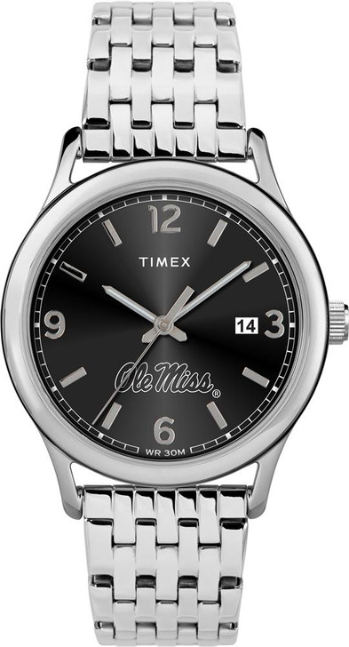 Women's Ole Miss Rebels Watch Timex Sage Stainless Watch
