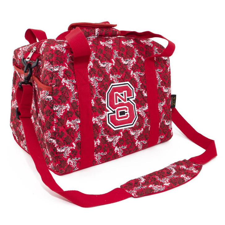 NCSU NC State Wolfpack Duffel Bag Bloom Quilted Mini Travel Bag