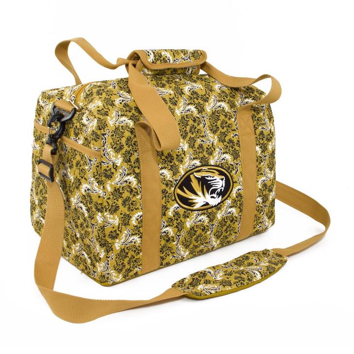 Missouri Tigers Mizzou Duffel Bag Bloom Quilted Mini Travel Bag