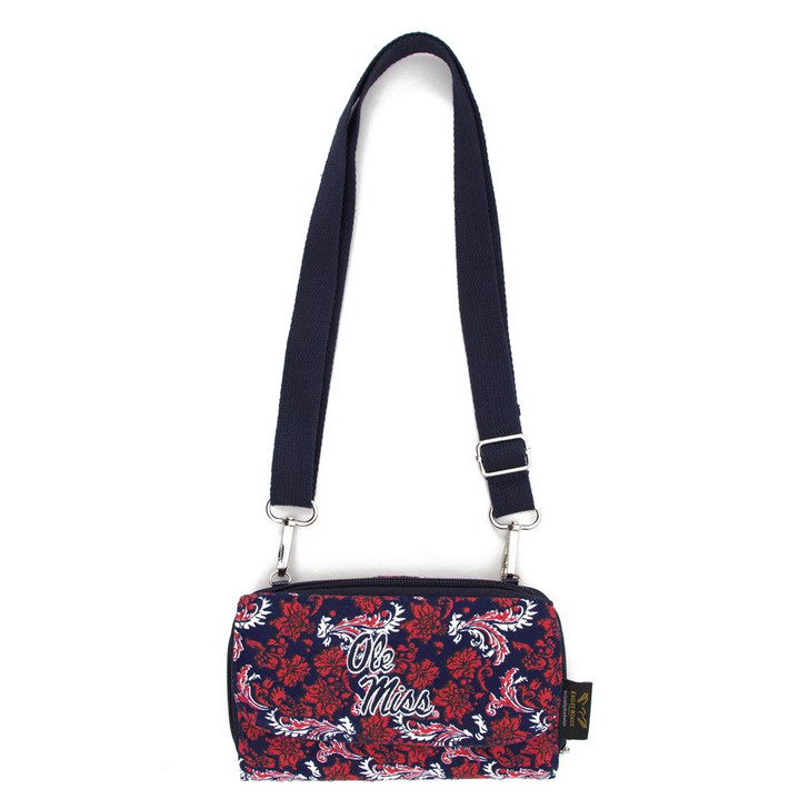 Ole Miss Rebels Wallet Quilted Mini Cross Body Purse