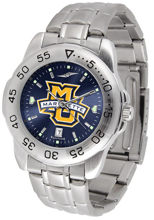 Men's Marquette University Watch Stainless Steel Dress Watch