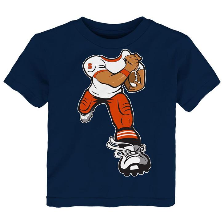 Toddler Syracuse University Tee Yard Rush Toddler T-Shirt