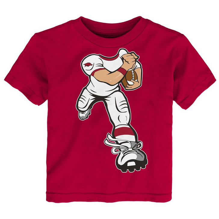Toddler Arkansas Razorback Tee Yard Rush Toddler T-Shirt