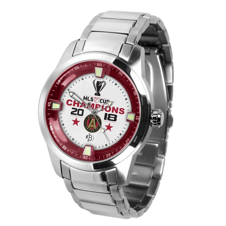 Mens 2018 Champions Atlanta United FC Watch Stainless Steel Titan Watch