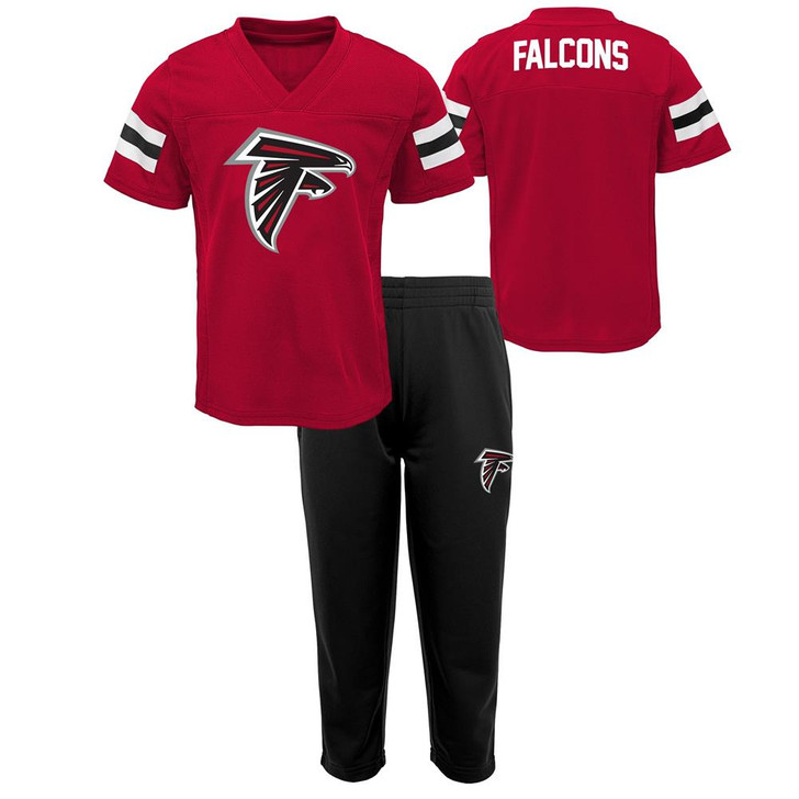 Infant Atlanta Falcons Set Toddler Tee and Pant Set