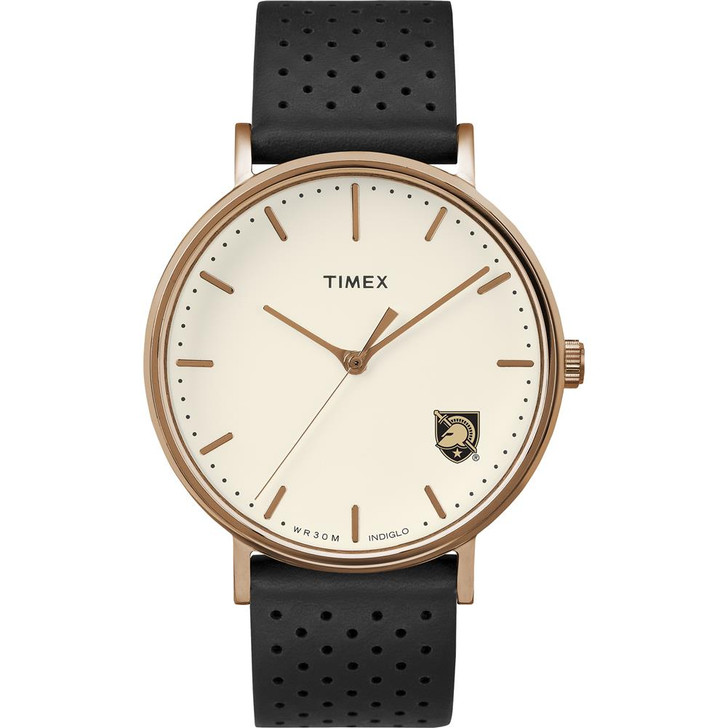 Ladies Timex Army Black Knights Watch Rose Gold Grace Watch