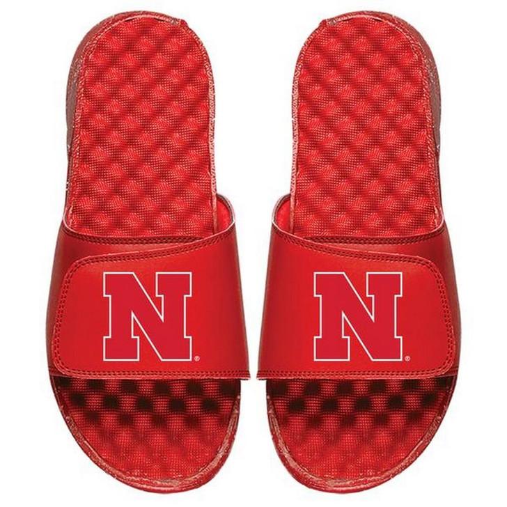 Nebraska Cornhuskers Slides ISlide Primary Adjustable Sandals