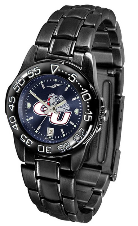 Women's Gonzaga University Bulldogs Black Watch Fantom AnoChrome